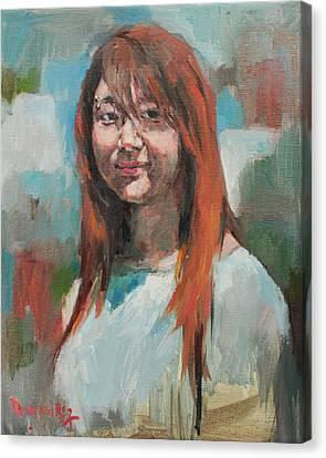 Hwasun Canvas Print by Becky Kim