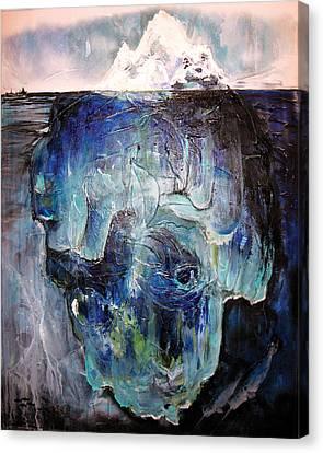 Iceberg Canvas Print by Tanya Kimberly Orme