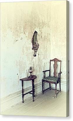 If Walls Could Talk Canvas Print by Karol Livote