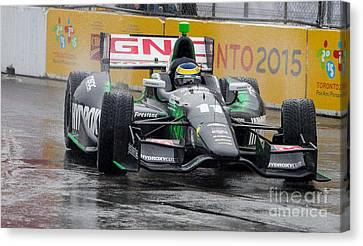 Indy Car  Canvas Print by Simon Jones