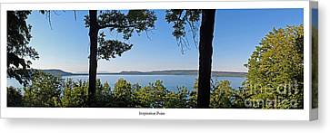 Inspiration Point Canvas Print by Twenty Two North Photography