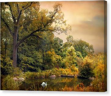Intimate Autumn Canvas Print by Jessica Jenney