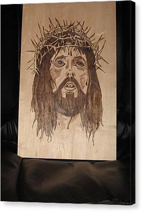 Jesus' Crucifixion Canvas Print by N Gardner