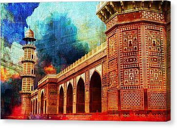 Jhangir Tomb Canvas Print by Catf