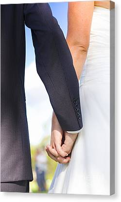 Joined Together As Man And Wife Canvas Print by Jorgo Photography - Wall Art Gallery