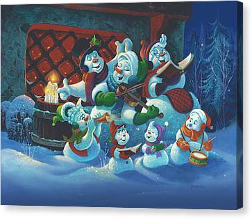 Joy To The World Canvas Print by Michael Humphries