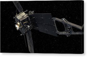 Juno Spacecraft Canvas Print by Nasa