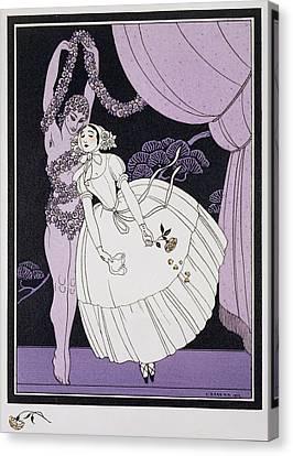 Karsavina Canvas Print by Georges Barbier