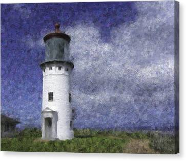 Kilauea Lighthouse Canvas Print by Renee Skiba