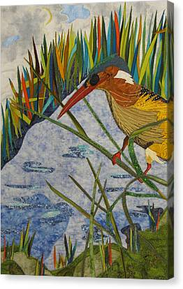 Kingfisher Canvas Print by Lynda K Boardman