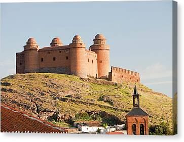 La Calahorra Castle Canvas Print by Ashley Cooper