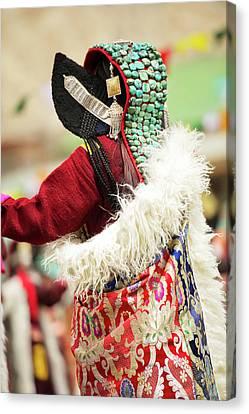 Ladakh, India Married Ladakhi Women Canvas Print by Jaina Mishra