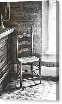 Ladderback Canvas Print by JAMART Photography