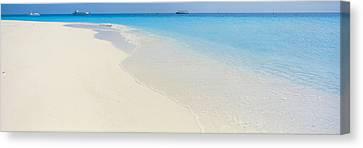 Laguna Maldives Canvas Print by Panoramic Images