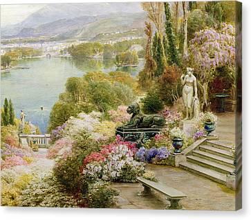 Lake Maggiore Canvas Print by Ebenezer Wake-Cook