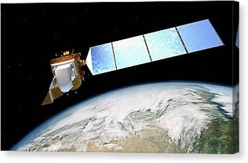 Landsat Data Continuity Mission Canvas Print by Nasa