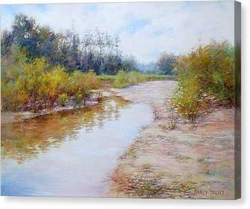 Landscape  Canvas Print by Nancy Stutes