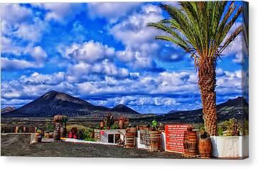 Lanzarote Panorama Canvas Print by Mountain Dreams
