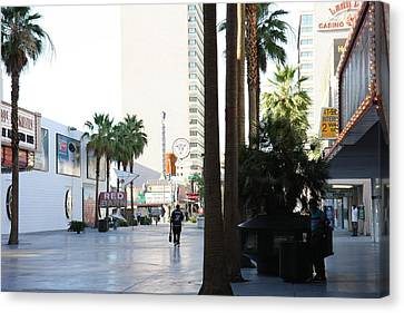 Las Vegas - Fremont Street Experience - 12125 Canvas Print by DC Photographer