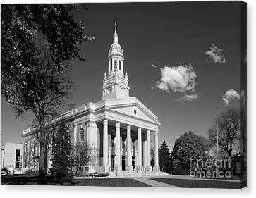 Lawrence University Memorial Chapel Canvas Print by University Icons