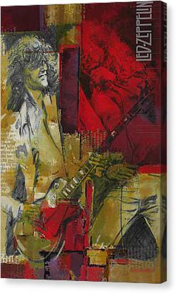 Led Zeppelin  Canvas Print by Corporate Art Task Force