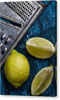 Lemon Canvas Print by Nailia Schwarz