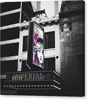 Les Miz Canvas Print by Natasha Marco