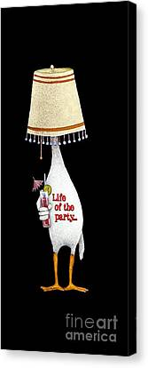 Life Of The Party... Canvas Print by Will Bullas