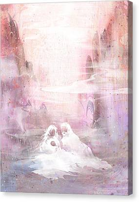 Light Of The World Canvas Print by Rachel Christine Nowicki
