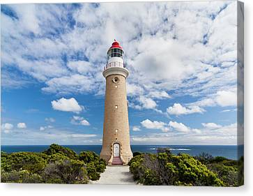 Lighthouse Of Cape Du Couedic Canvas Print by Martin Zwick
