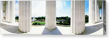 Lincoln Memorial Washington Dc Usa Canvas Print by Panoramic Images