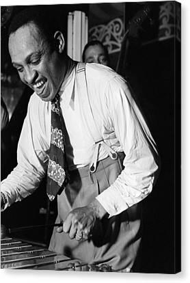 Lionel Hampton (1908-2002) Canvas Print by Granger