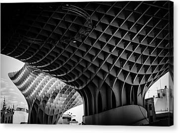 Listen To The Waves Canvas Print by Andrea Mazzocchetti