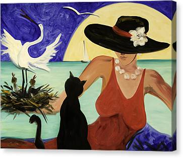Living The Dream Canvas Print by Gina De Gorna