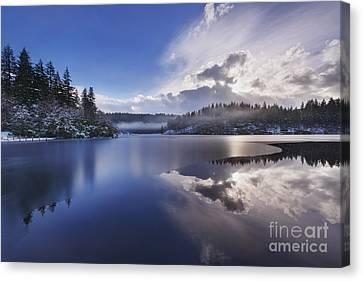 Loch Ard Canvas Print by Rod McLean