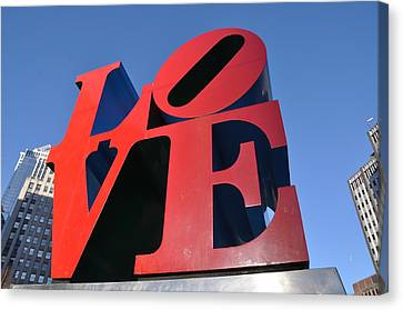 Love Canvas Print by Bill Cannon