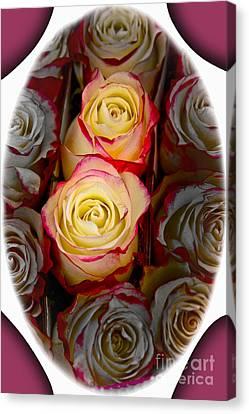 Love Is A Rose Canvas Print by Al Bourassa
