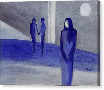Love Leftover - Trio Canvas Print by Mirko Gallery