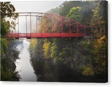 Lovers Leap Bridge Canvas Print by Bill Wakeley
