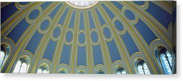 Low Angle View Of The Ceiling Canvas Print by Panoramic Images