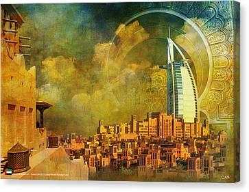 Madinat Jumeirah Canvas Print by Catf