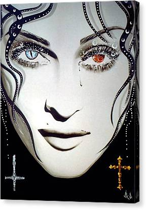 Madonna Canvas Print by Alicia Hayes
