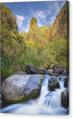 Majestic Iao Needle Canvas Print by Hawaii  Fine Art Photography