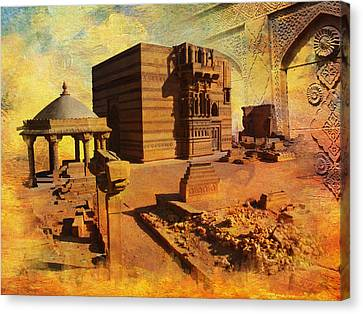 Makli Hill Canvas Print by Catf