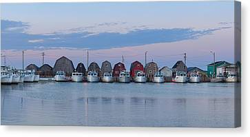 Malpeque Harbour Panorama Canvas Print by Matt Dobson