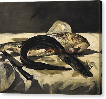 Manet, �douard 1832-1883. Still Life Canvas Print by Everett