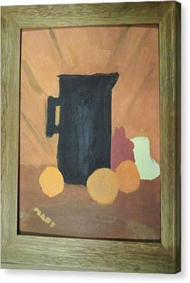 #1 Canvas Print by Mary Ellen Anderson