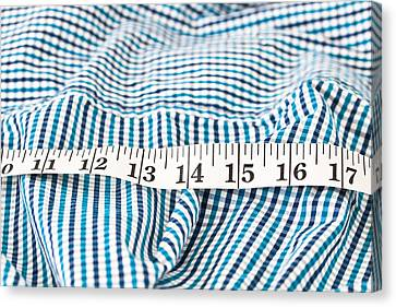 Measuring Tape Canvas Print by Tom Gowanlock