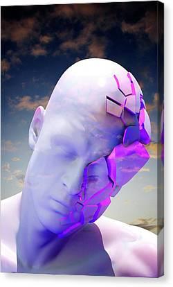 Mental Health Degeneration Canvas Print by Tim Vernon