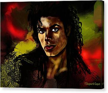 Michael Canvas Print by Francoise Dugourd-Caput